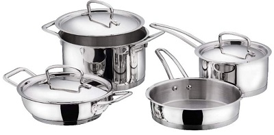 Vinod Cookware Classic Stainless Steel Set