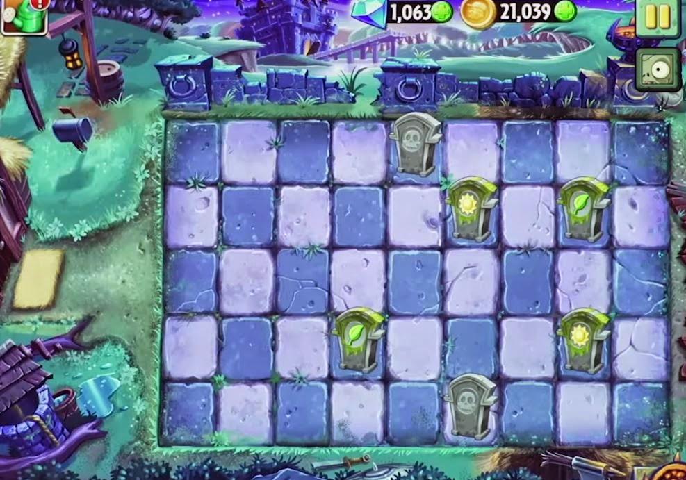 PVZ 2 Castle World new plants