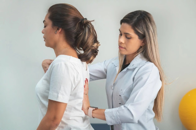 Lower back pain - improve your posture