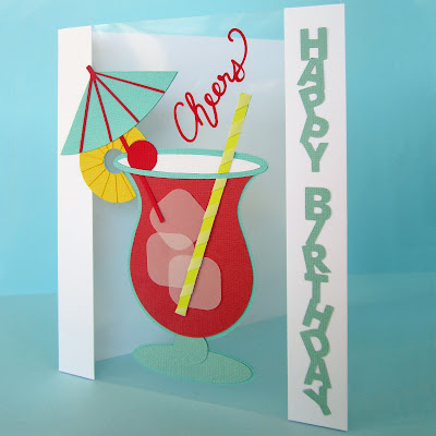 Vertical Text Tutorial by Janet Packer for Silhouette UK.  Make vertical sentiments and a card with an acrylic panel.