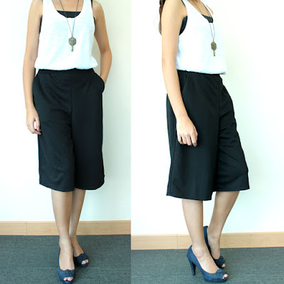 Tips Memadukan Celana Cullote yang Trendi