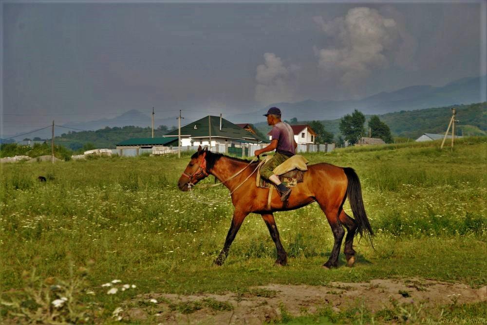Prosto z kazachskiej wsi.