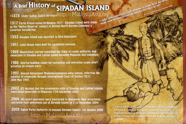 History of Sipadan Island