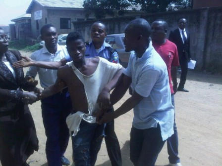 suspect jumped out court ejigbo lagos