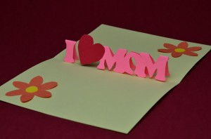 tutorial diy mother's day card