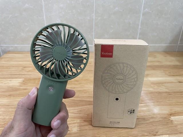 Quạt tích điện Yoobao có tốt không?
