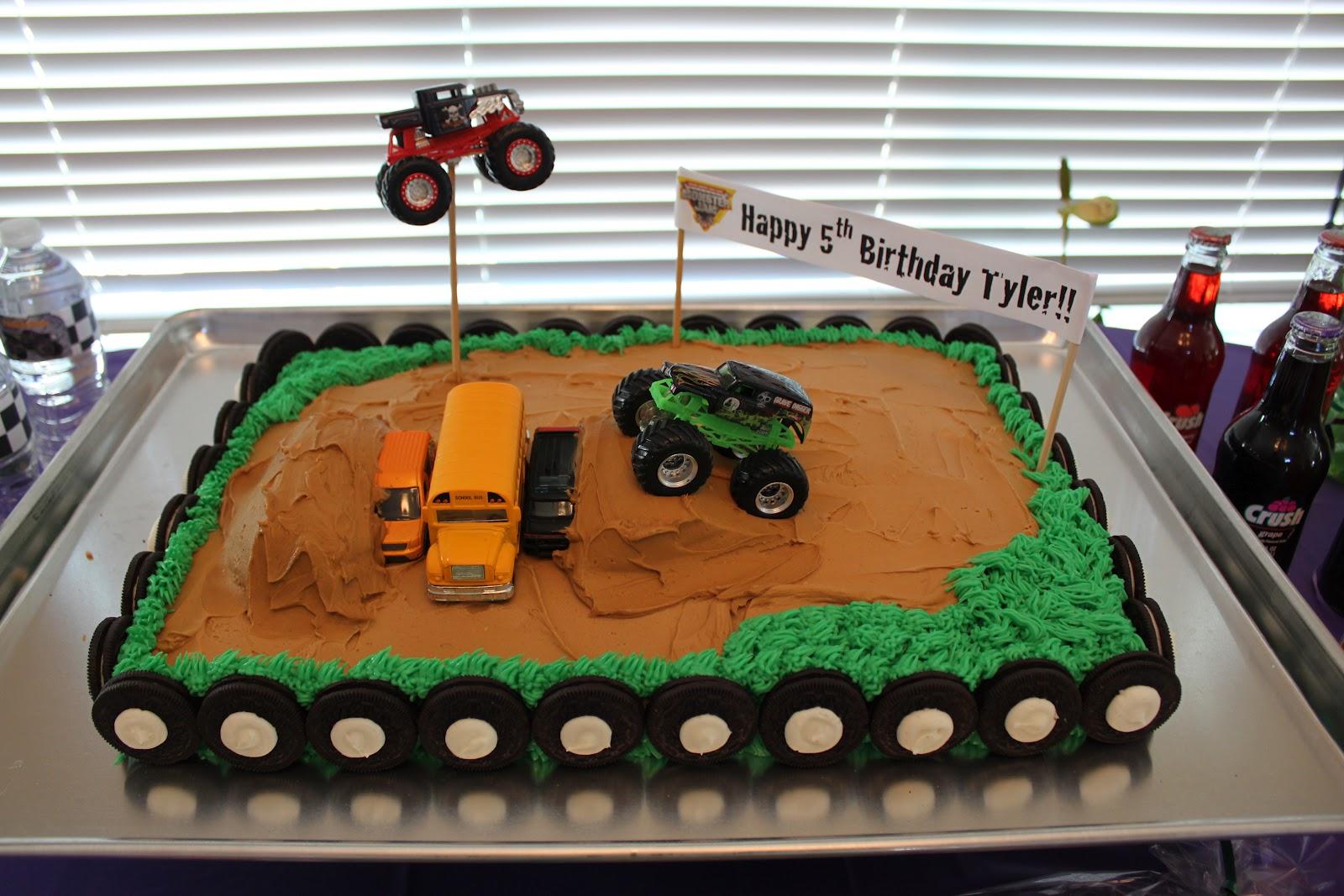 Monster Truck Cake Ideas Monster Jam