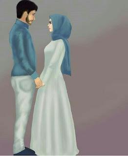 anime kartun muslim romantis