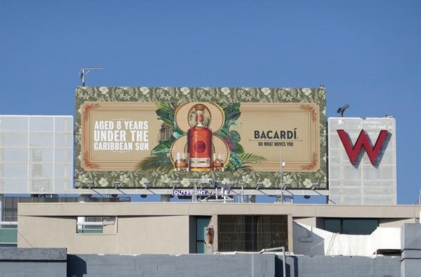 Bacardi Reserva Rum billboard