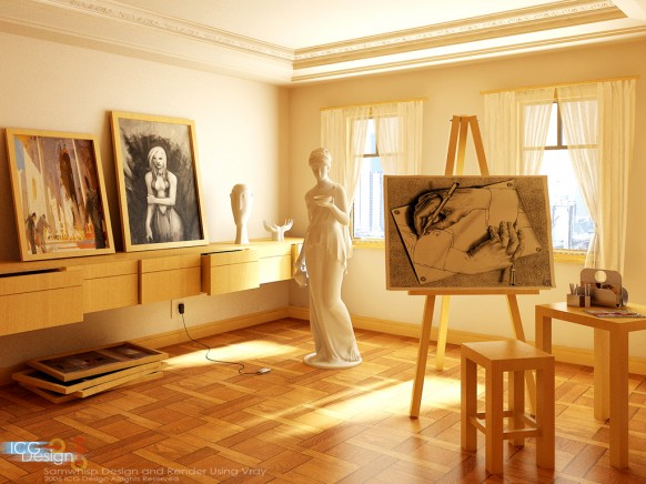 Spaces That Inspire Solitude Contemplation And Creative