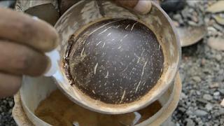 Langkah Membuat Asbak Unik Dari Batok Kelapa
