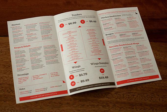 Art of the menu seleccin de cartas de restaurante  No me toques las Helvticas  Blog sobre diseo grfico y publicidad