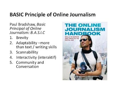 Prinsip Dasar Jurnalistik Online