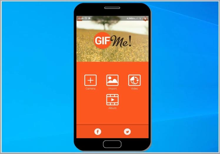 Gif Me! Camera :  Δημιουργήστε  μικρά βίντεο με το κινητό σας τηλέφωνο