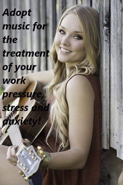 music is the best treatment