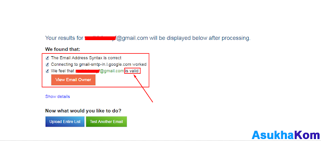 Cara Cek Alamat Email yg Masih Aktif menggunakan Verifyemailaddress.Org