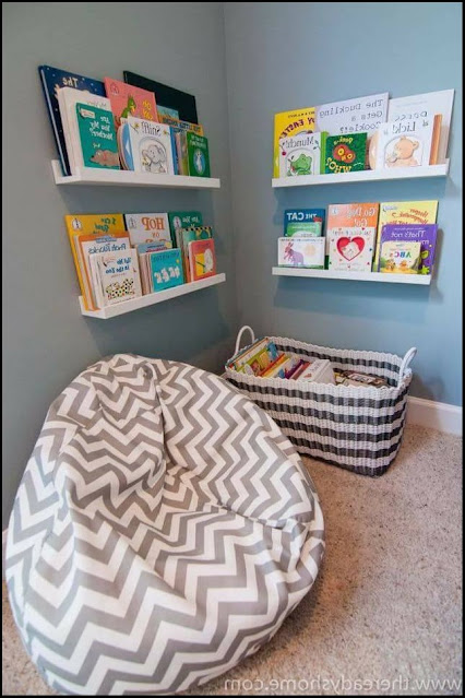 bookshelves diy kids