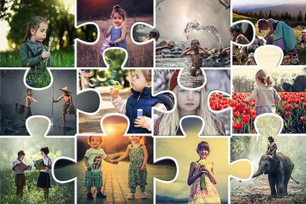 picture editing photoshop puzzle collage