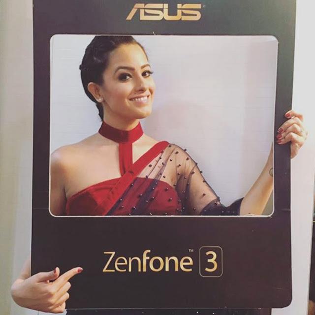 Anita Hassanandani promotes Asus Zenfone 3 series smartphones - TV actress Anita Hassanandani promotes Asus Zenfone 3 series smartphones in her unique style.