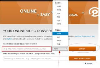 paste url video di form yang sudah tersedia