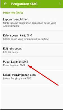 kenapa hp tidak bisa mengirim sms pesan keluar
