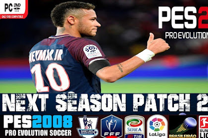 Free Download and Install Patch for Update Games Pes 2008 Latest Version