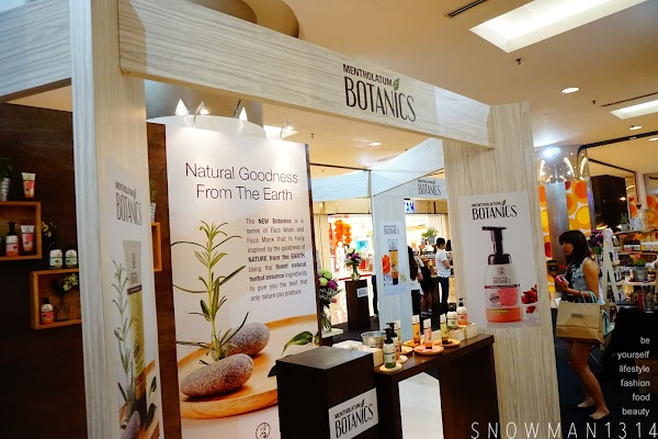 Mentholatum Launches Nature Inspired Series - BOTANICS @ Guardians Malaysia