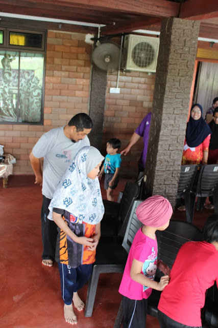 FAMILYDAY KERABAT HASSIM@HASHIM PART 2 GAMES