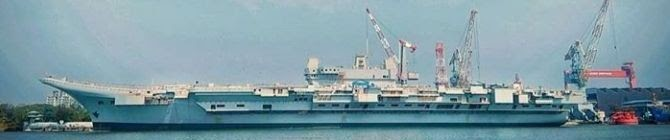 India's First Indigenous Aircraft Carrier Is Fast Getting Ready At The Cochin Shipyard