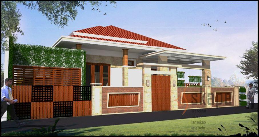 DESAIN RUMAH MODEL MODERN SEKARANG Model Rumah Modern