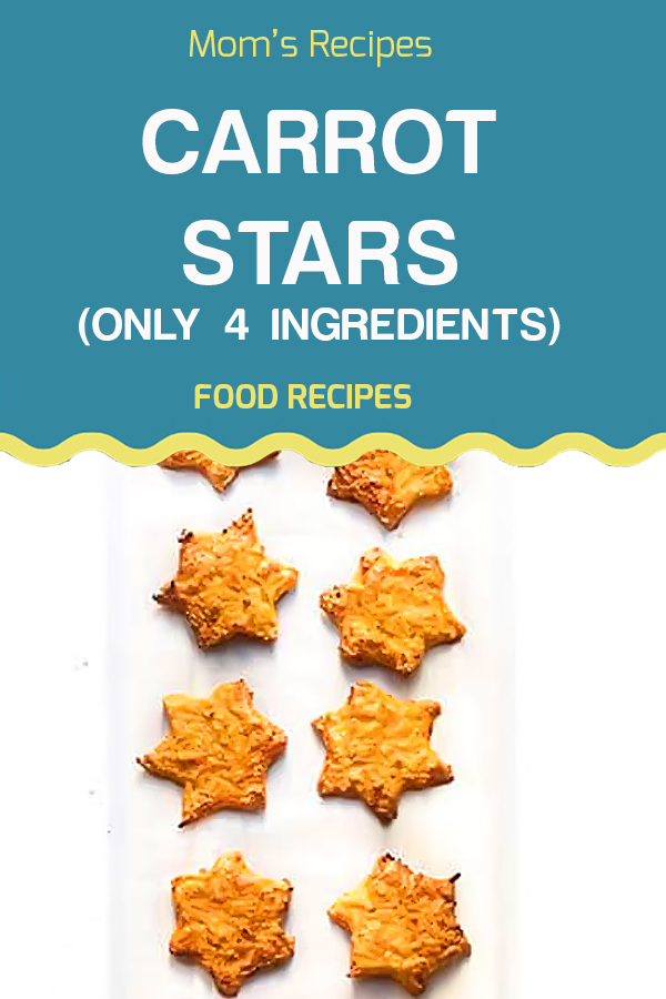 Carrot Stars (only 4 ingredients) | Vegan Recipes Easy, Vegan Recipes Healthy, Vegan Recipes Dinner, Vegan Recipes Fall, Vegan Recipes For Weight Loss, Vegan Recipes Beginner, Vegan Recipes Breakfast, Vegan Recipes Dessert, Vegan Recipes High Protein, Vegan Recipes Plant Based, Vegan Recipes Gluten Free, Vegan Recipes Lunch, Vegan Recipes Raw, Vegan Recipes For Beginners, Vegan Recipes Crockpot. #veganrecipes #Veganrecipeshealthy #Veganrecipesdinner