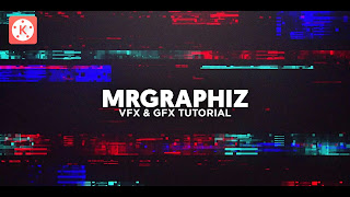 Digital Glitch Intro Template For Kinemaster #11