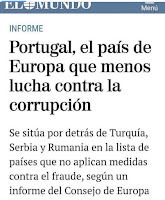 portugal mais corrupto da europa, apodrecetuga blog