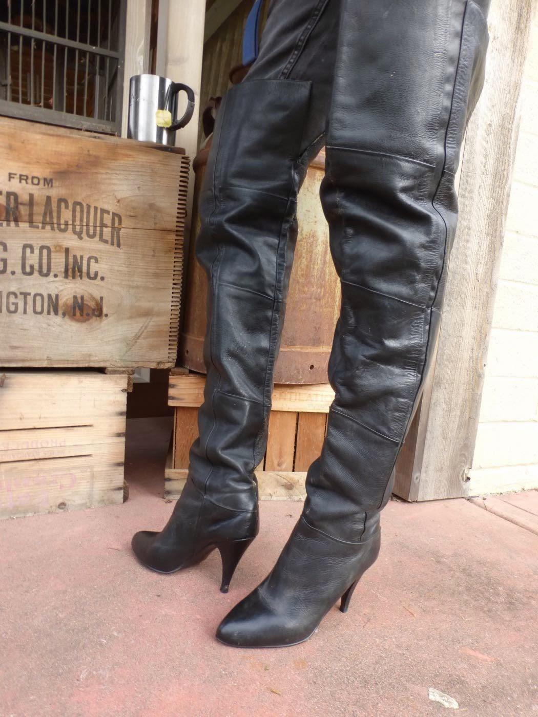 Ebay Leather Post Holiday Vintage Boot Round Up