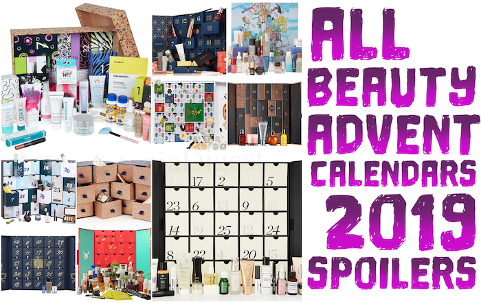 Full spoilers and contents of ALL THE BEST BEAUTY ADVENT CALENDARS FOR CHRISTMAS 2019, including launch dates, price, availability, shipping, and more.
