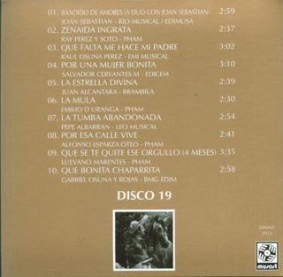 Antonio Aguilar - Mi Historia Disco 19