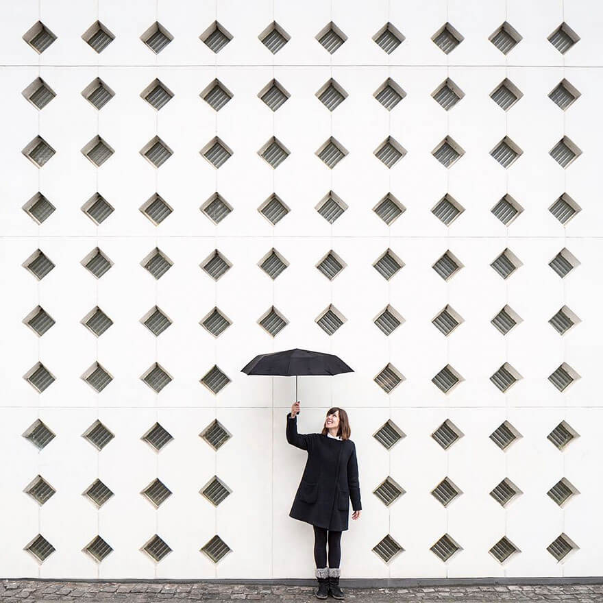 22 Fascinating Pictures From Around The World That Play With Geometry In A Really Artistic Way