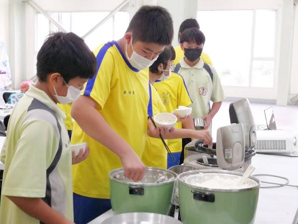 二水國中食農教育 品味好米、鮮食在地