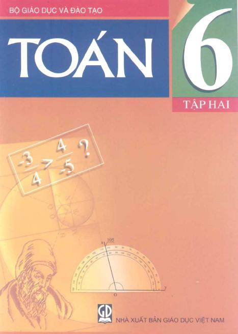 Sách giáo khoa Toán 6 Tập 2