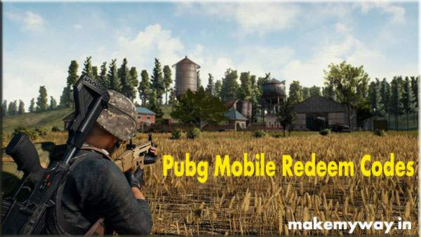Free Redeem Code For Pubg Mobile