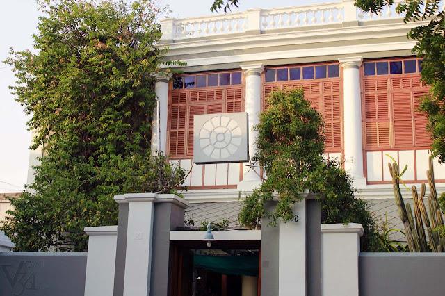 Sri Aurobindo Ashram, Rue de la Marine