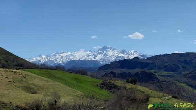 Picos de Europa desde los Payares