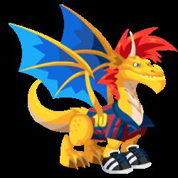 Dragón Futbolista (Adulto)