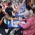 Polsek Batam Kota Lakukan Pengamanan Vaksinasi di Vihara Duta Maitreya