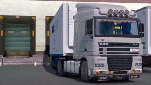 DAF XF 95 truck mod by Rimuus
