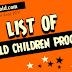 List of PTV Old Children Programs