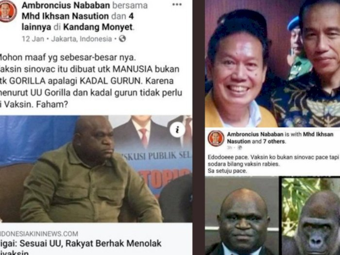Lagi, Natalius Pigai Jadi Korban Rasisme Pendukung Jokowi, Warga Papua Geram