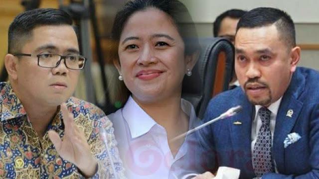 Bahas Puan Maharani, Pimpinan & Anggota Komisi III DPR Adu Mulut