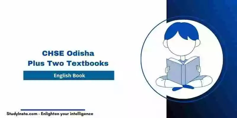 CHSE Odisha Plus Two English Book PDF - Plus Two 1st & 2nd Year