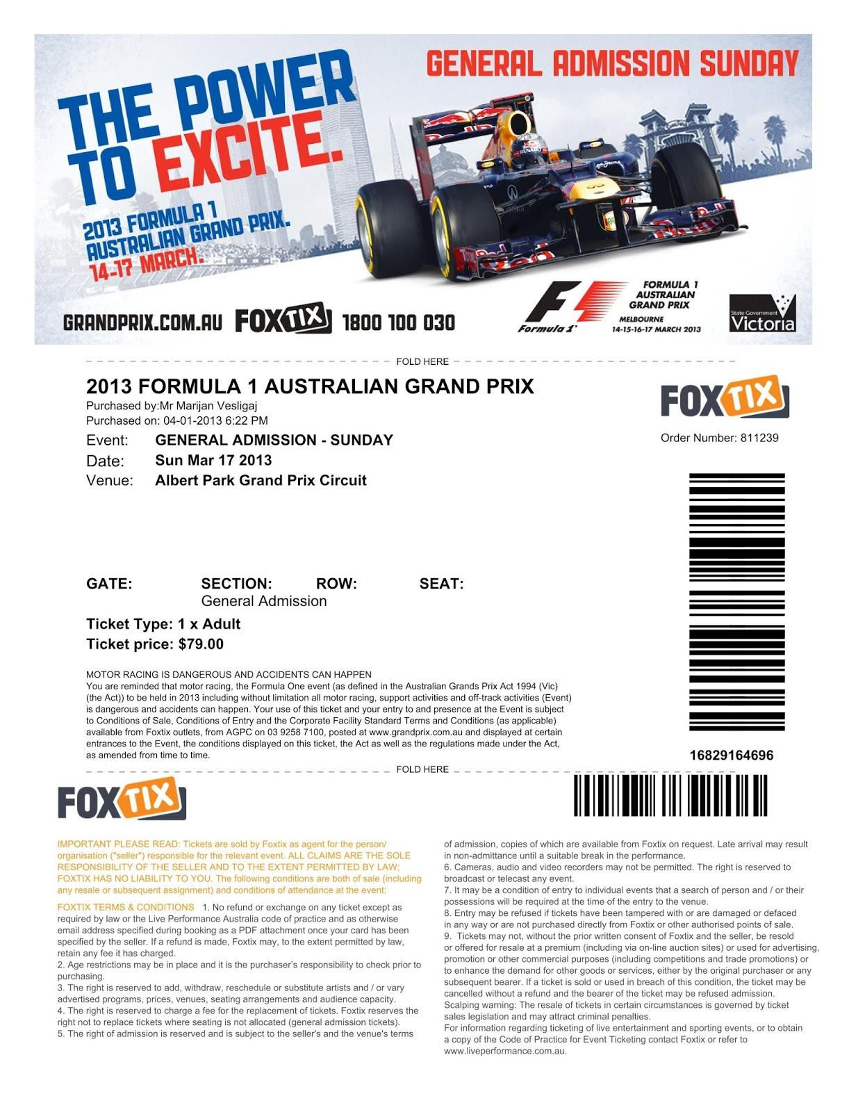 Formel 9 Ticket